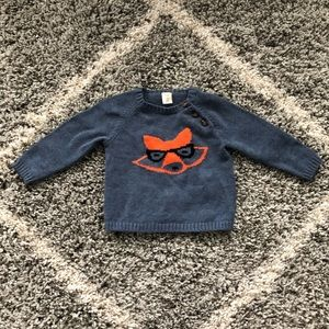 Tucker + Tate Fox Sweater 12 Months